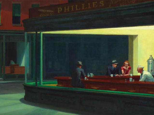Nighthawks của Edward Hopper