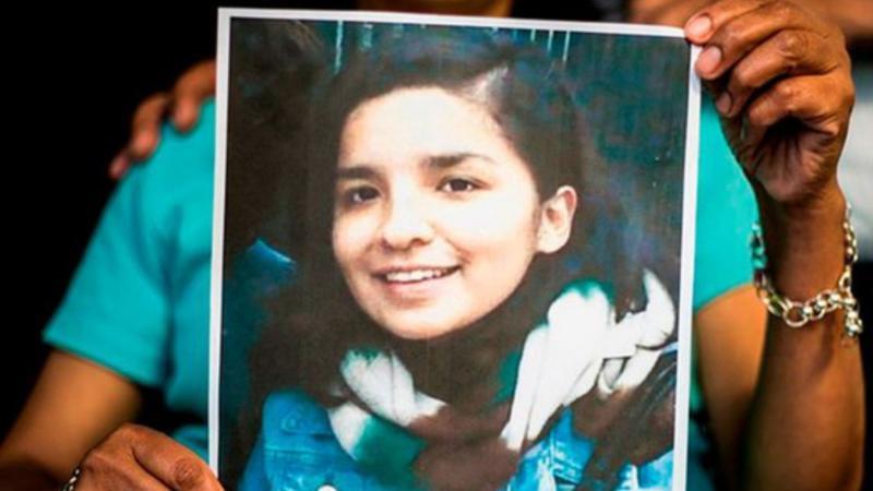 Cô nữ sinh Peru bị sát hại 3 năm trước.
