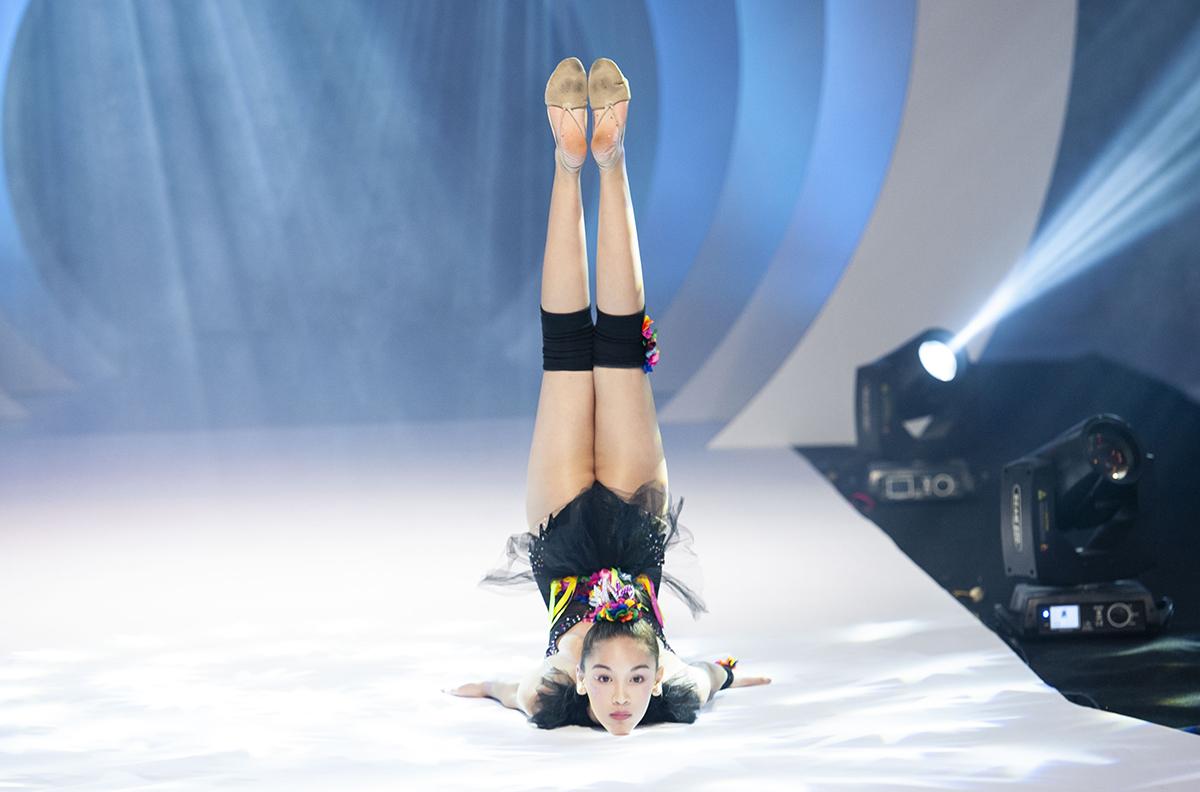 Màn biểu diễn ấn tượng trong show Thảo Nguyễn của mẫu nhí Lucy.