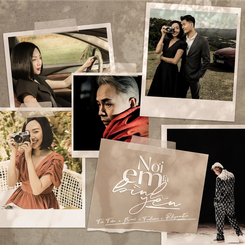 Sản phẩm mới của Tóc Tiên có sự kết hợp của nhiều cái tên trong làng nhạc.