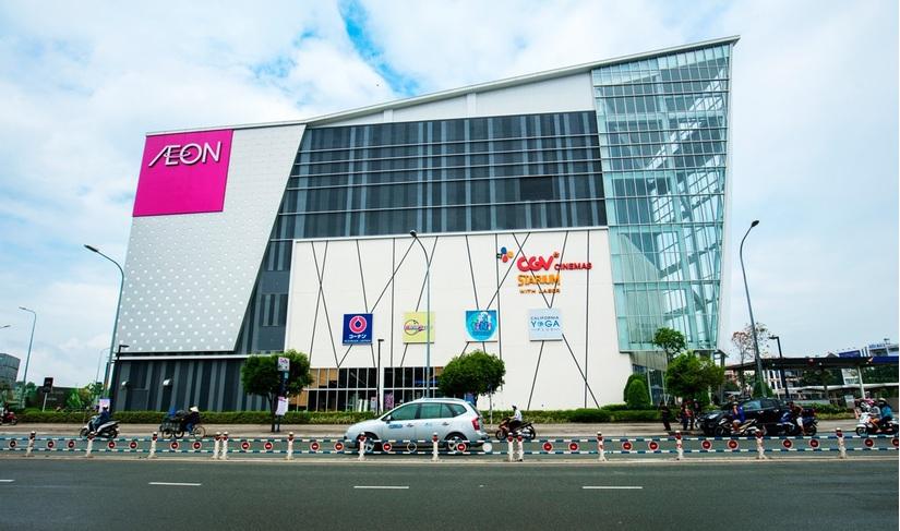 Trung tâm thương mại AEON Mall Bình Tân TP HCM.