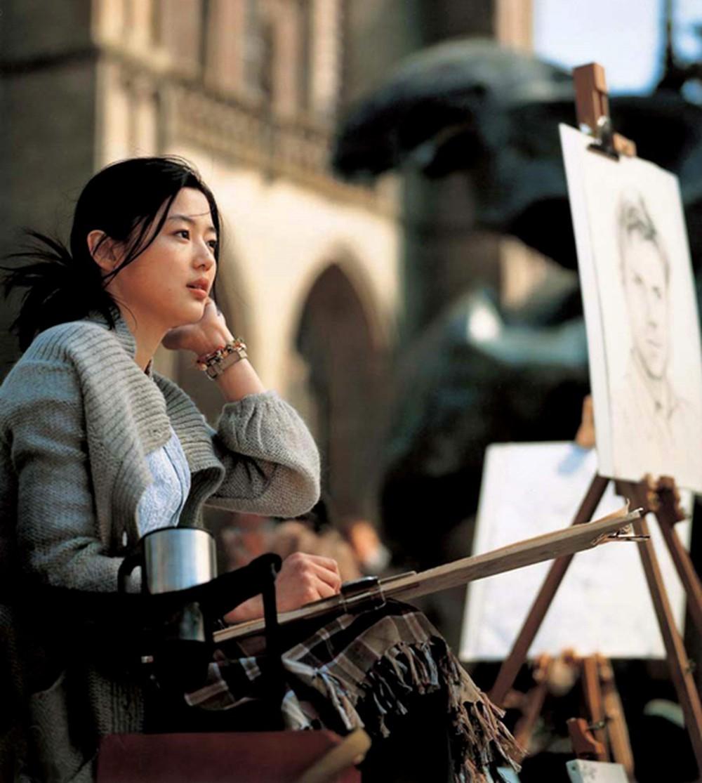 Jun Ji Hyun trong bộ phim điện ảnh Daisy (Hoa cúc dại) công chiếu năm 2006.