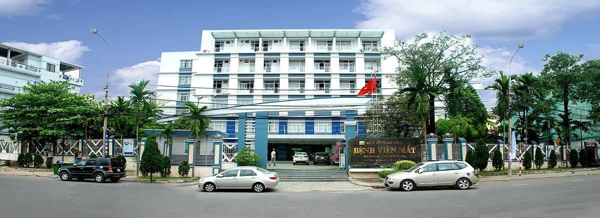 Bệnh nhân 558 từng đến khám ở Bệnh viện mắt Đà Nẵng.