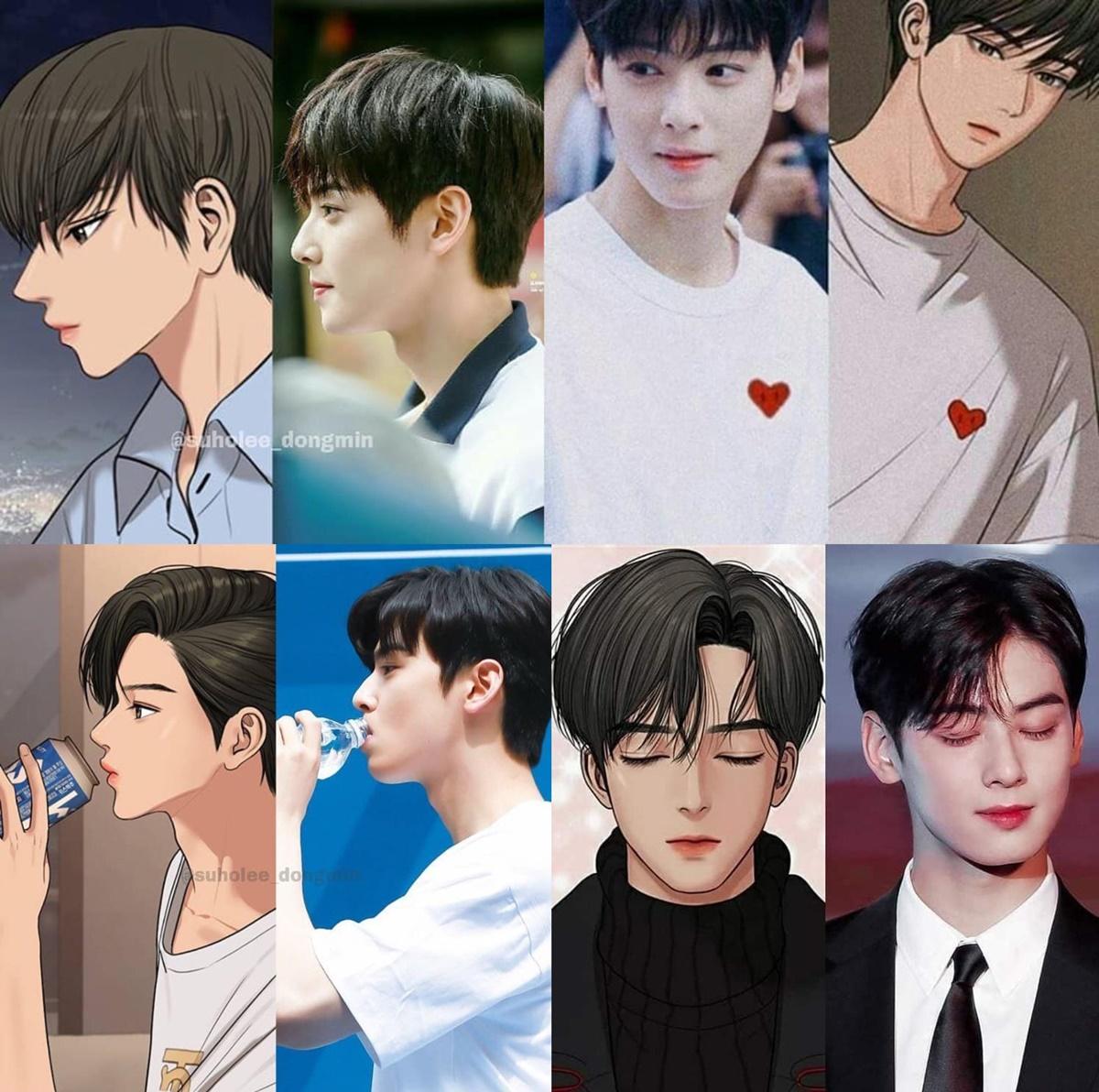 5 idol nam mang khí chất như nhân vật truyện tranh - 5