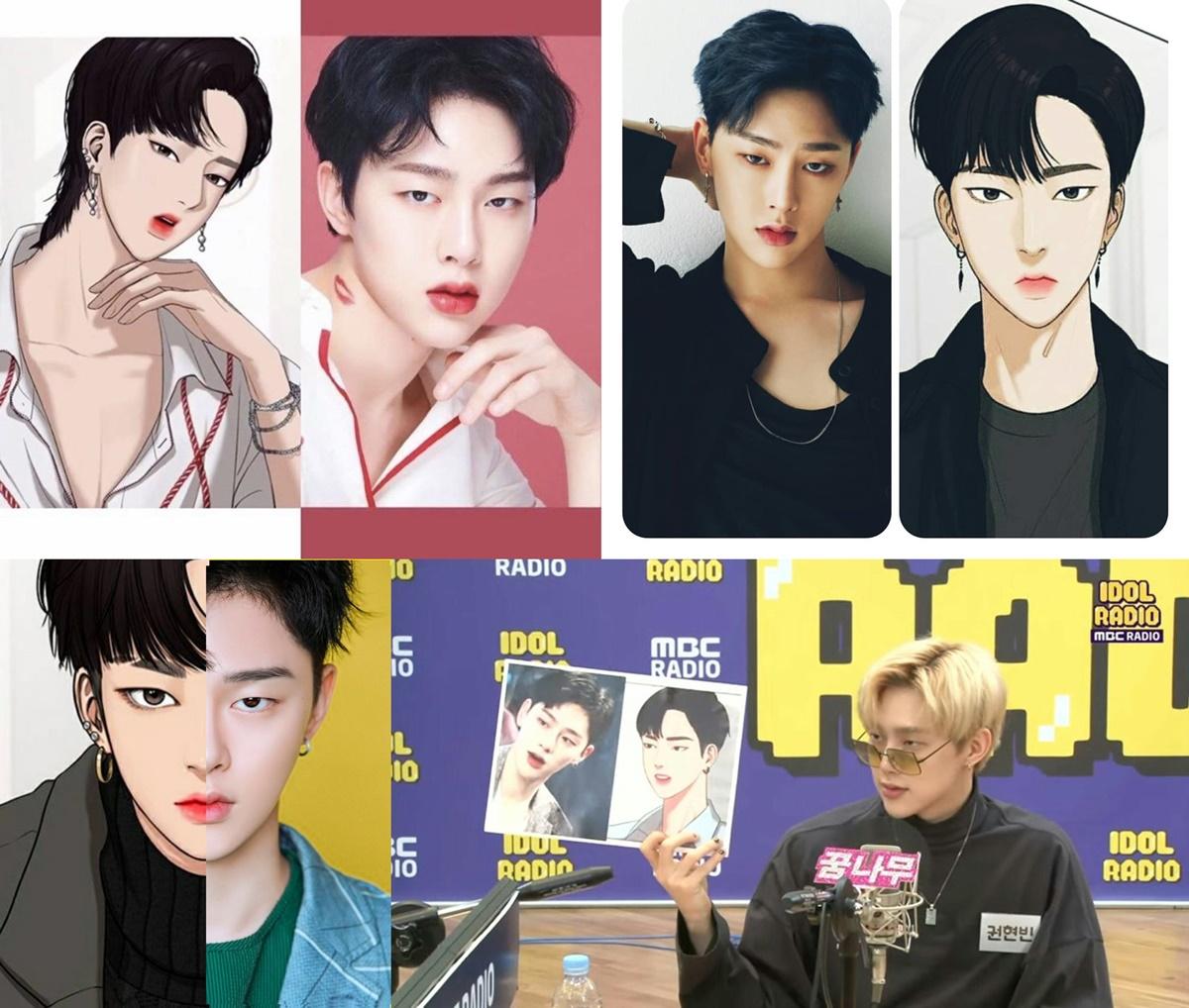 5 idol nam mang khí chất như nhân vật truyện tranh - 7