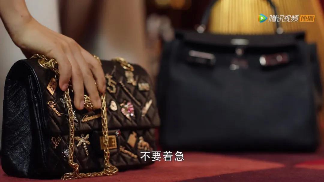 Chiếc Chanel của Cố Giai là đồ rẻ tiền khi so với Hermes.