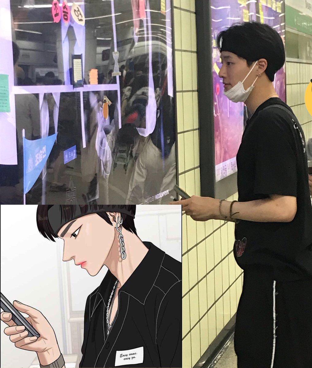 5 idol nam mang khí chất như nhân vật truyện tranh - 11