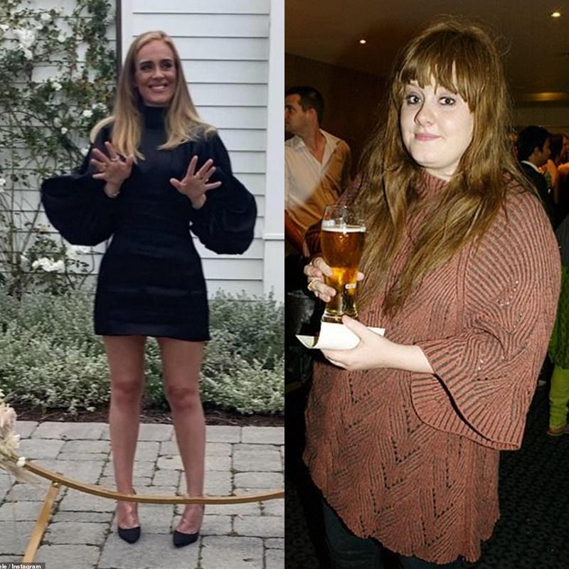 Nữ ca sĩ có màn giảm cân ngoạn mục để chào đón tuổi 32.