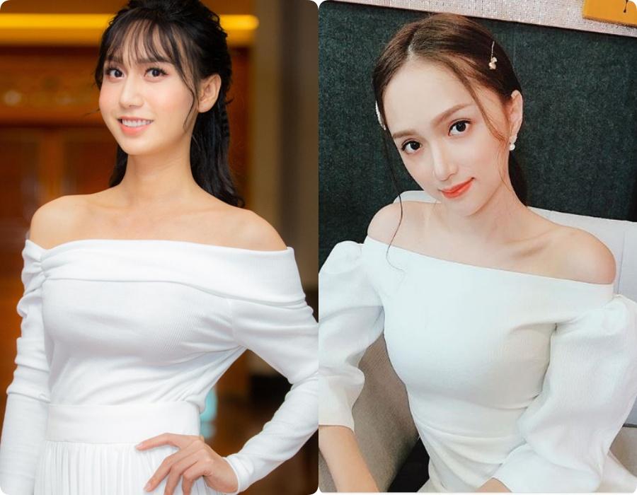 Một số hình ảnh của Lynk Lee bị so sánh với Hương Giang.