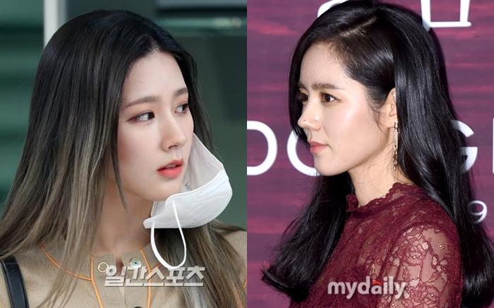 Không chỉ có nét đẹp dịu dàng gợi nhớ Shim Eun Ha, Mi Yeon cũng có chiếc mũi thẳng tắp không thua kém nữ diễn viên Han Ga In.