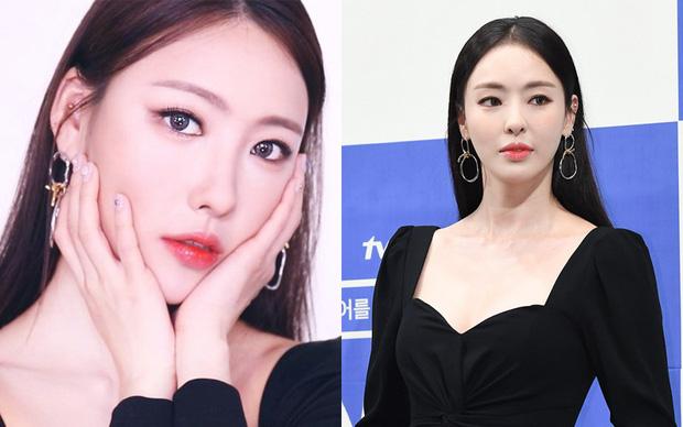 Vốn có gương mặt thanh tú, đường nét hài hòa, Risabae không khó khăn để hóa thành Lee Da Hee khi makeup kiểu sương sương.