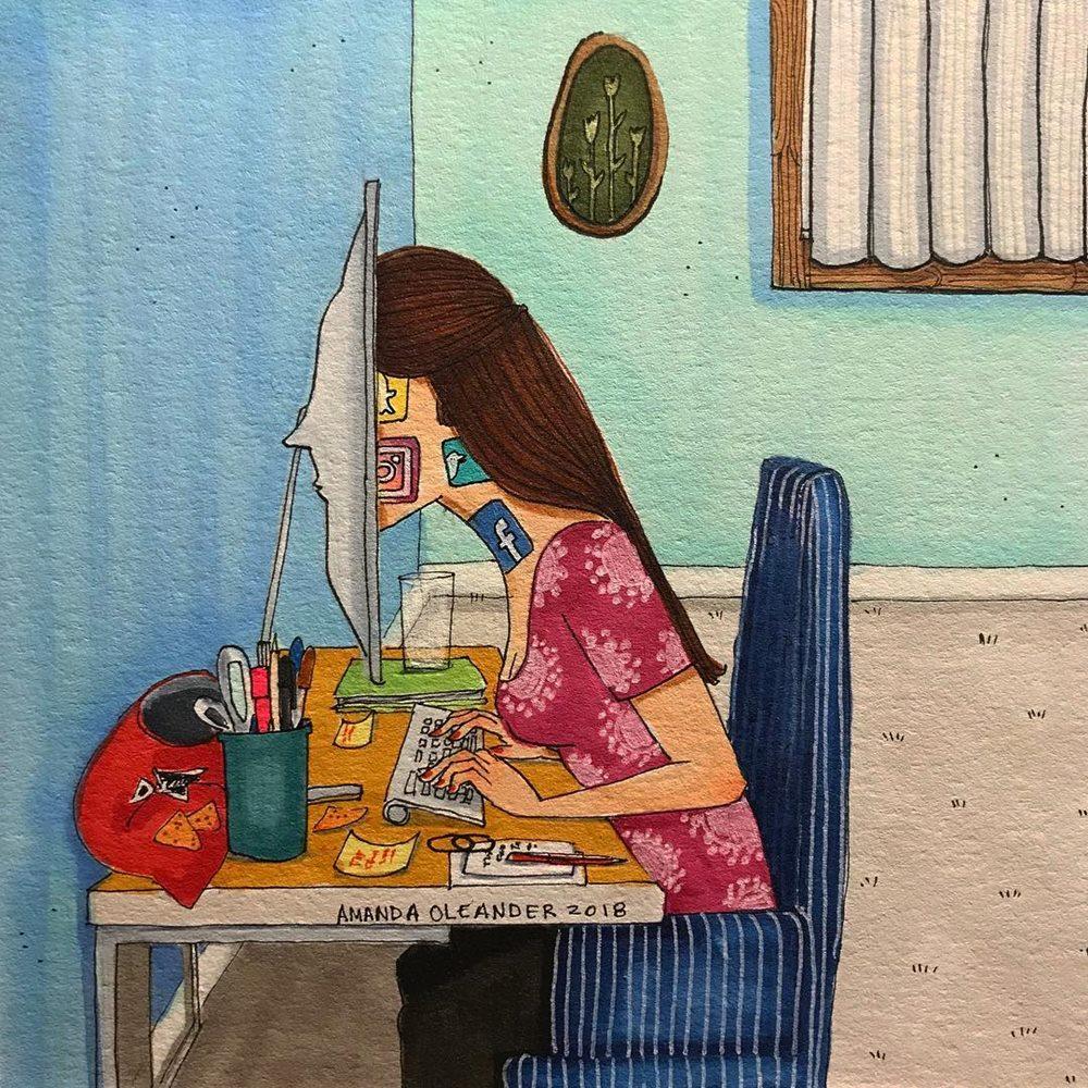 Phần lớn thời gian của bạn đều dành cho máy tính, từ xem phim, nghe nhạc, dùng mạng xã hội cho đến chat với bạn bè. Internet chính là cuộc sống.