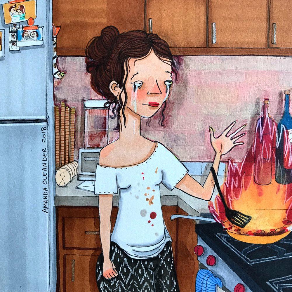 Đôi khi muốn nấu ăn nhưng vì không có năng khiếu trong lĩnh vực này, đây là những gì sẽ xảy ra. Và bạn từ bỏ, lựa chọn mua đồ ăn ngoài, dù đã quá chán những món đó.