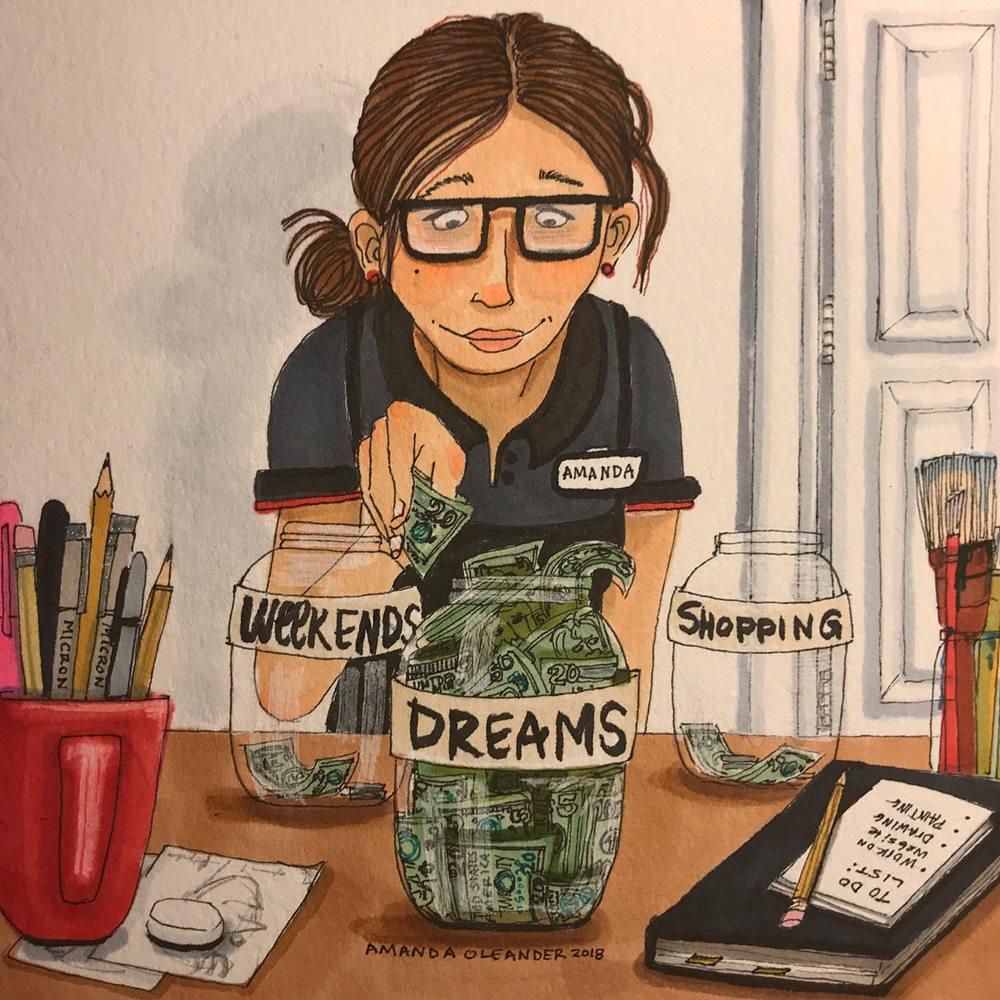 Sống một mình dạy bạn độc lập về tài chính.