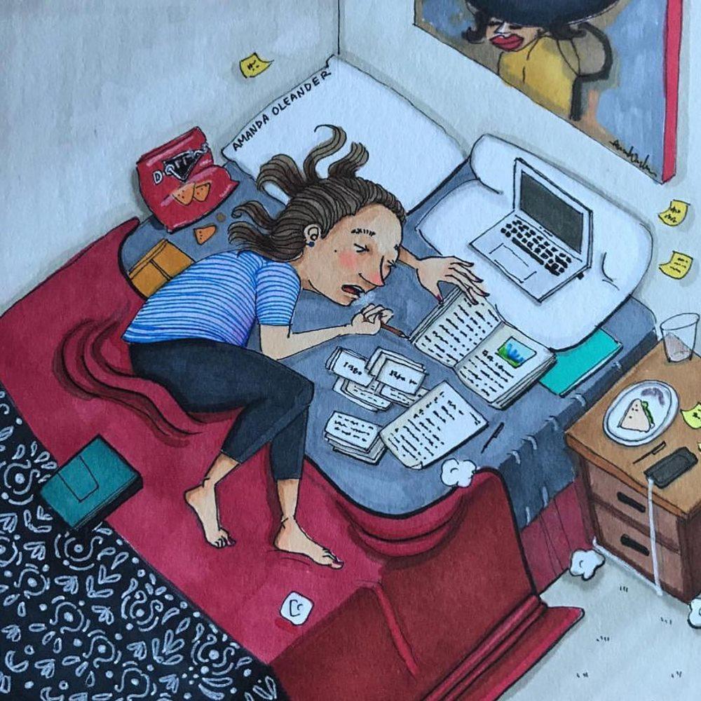 Việc học, việc làm chiếm nhiều thời gian, suy nghĩ và năng lượng của bạn, nhưng đừng quên nghỉ ngơi.