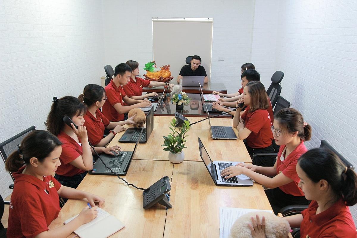 Đội ngũ nhân viên luôn chuyên nghiệp trong dịch vụ chăm sóc khách hàng.