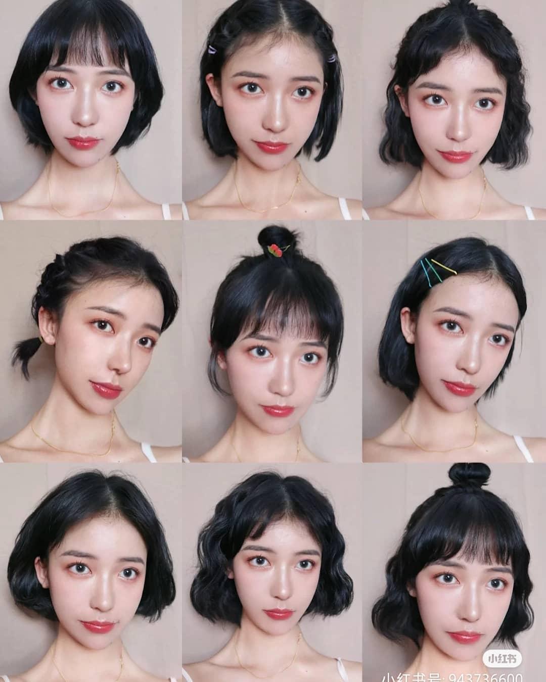 Các cô gái tóc ngắn đừng nghĩ rằng kiểu tóc này rất nhàm chán và khó tạo kiểu. Bằng chút sáng tạo, bạn có thể thử các kiểu tóc xoăn sóng nhẹ nhàng, tóc buộc đuôi gà, tóc tết mái, tóc búi củ tỏi... trông rất năng động và trẻ trung.