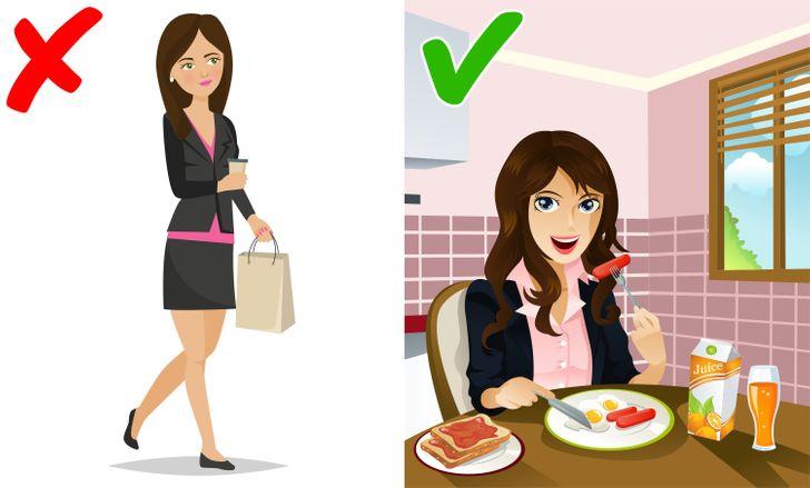 Những thói quen nhỏ nhưng xấu ngăn bạn giảm cân - 1