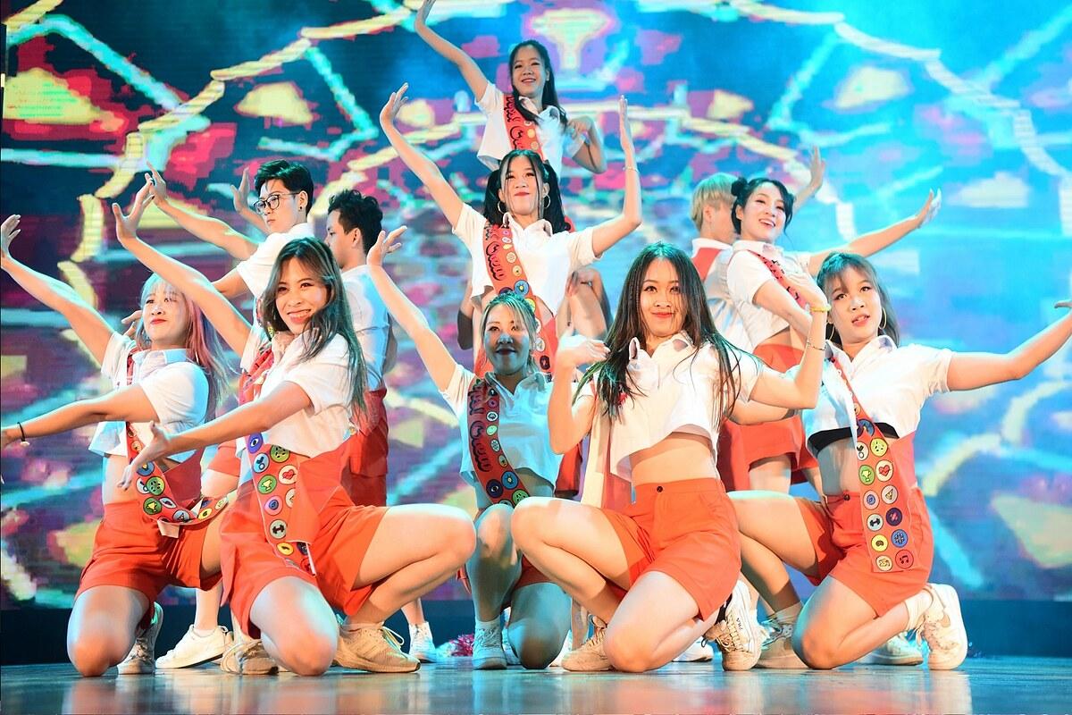 Hình ảnh đêm Chung kết Kpop Dance For Youth 2019 (tiền thân của Dance For Youth).