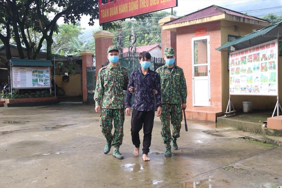 Hứa Văn Thanh cùng đồng bọn môi giới cho 3 người phụ nữ Việt Nam xuất cảnh trái phép sang Trung Quốc sinh con để bán trẻ sơ sinh. Ảnh: Đồn Biên phòng Ngọc Côn