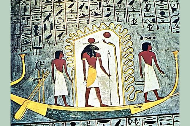 Nhà Ai Cập học có biết tên 8 vị thần này? - 1