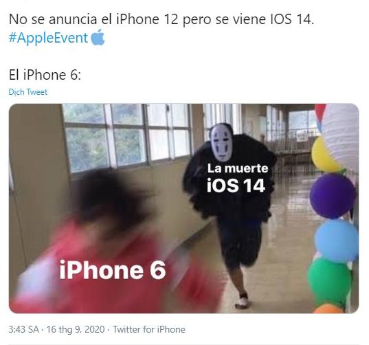 Đây là tâm trạng của những người dùng iPhone 6, sau khi iPhone 12 không xuất hiện mà thay vào đó là bản nâng cấp IOS 14.