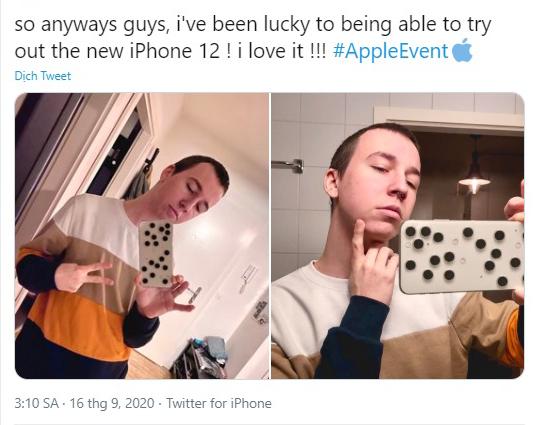 Một người dùng mạng tiết lộ tạo hình của iPhone 12 mà quả táo chưa dám ra mắt.