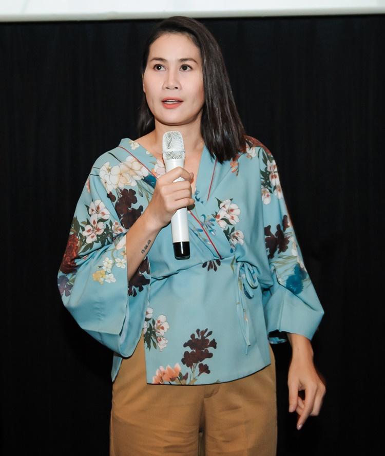 Thân Thúy Hà vào vai vợ Cao Minh Đạt. Cô chia sẻ đây là vai ác nhất mình từng đóng.