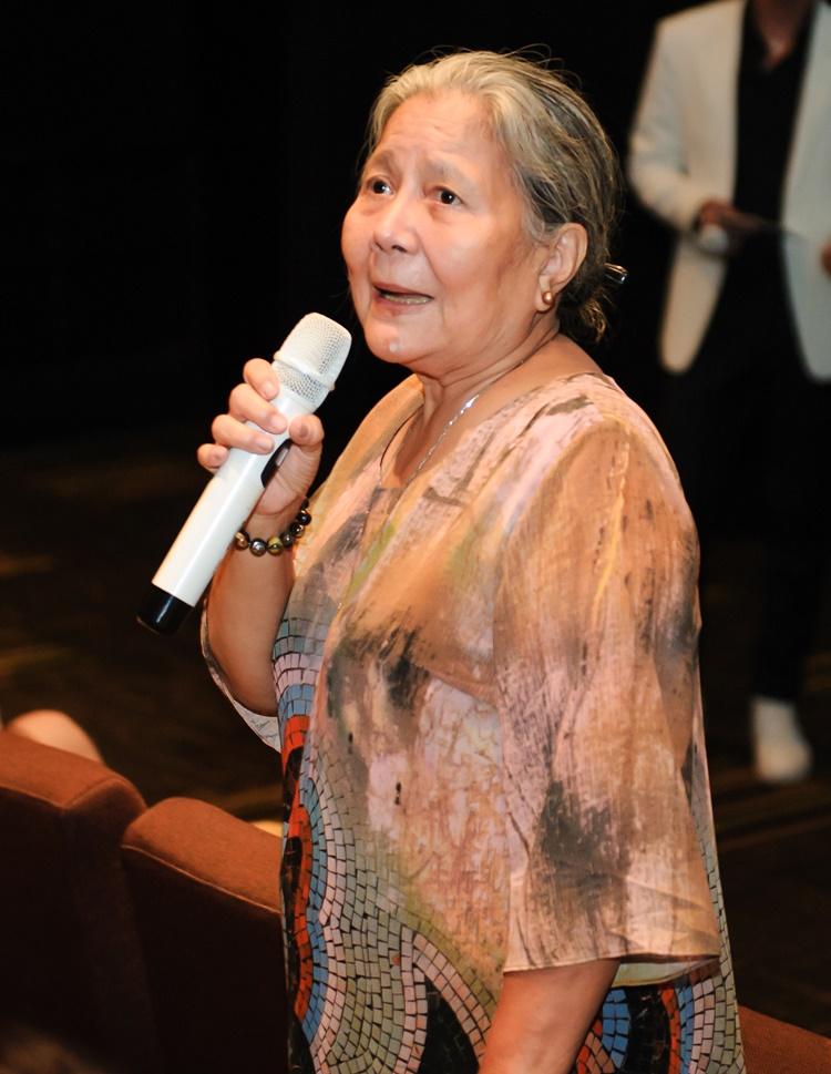NSƯT Lê Thiện vào vai mẹ Cao Minh Đạt - người phụ nữ khắc nghiệt, khó tính với các thành viên trong gia tộc.