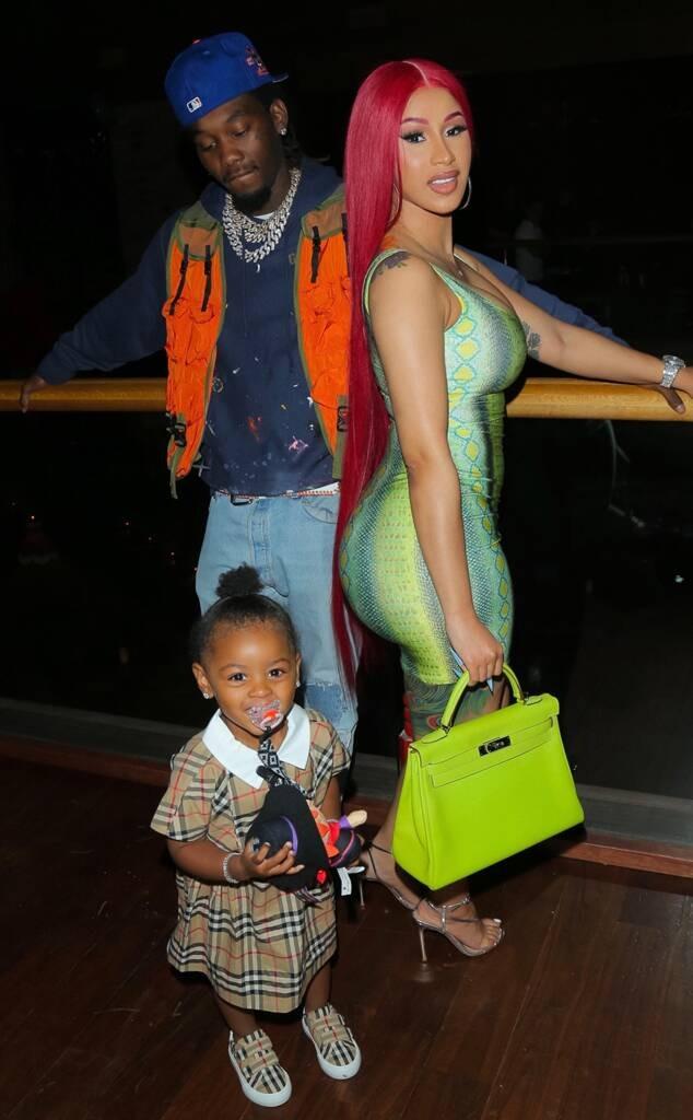 Con gái 2 tuổi của cặp rapper. Ảnh: Backgrid.