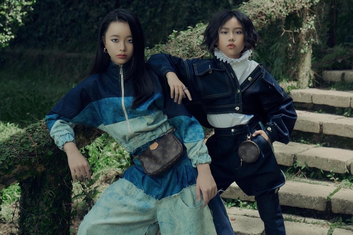 Khánh An (phải) và Phương Anh (trái) được nhà thiết kế Ivan Trần chọn làm nàng thơ trong bộ sưu tập Thu - Đông 2020 của anh. Nhiều năm hoạt động trong lĩnh vực thời trang, cả hai dễ dàng truyền tải thông điệp của nhà thiết kế.
