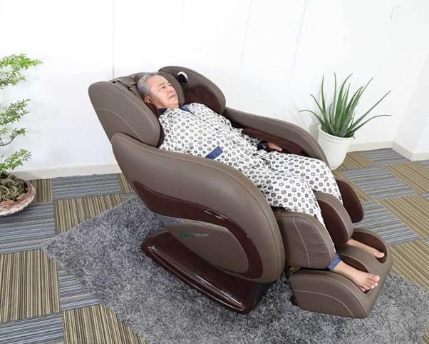 Ghế massage toàn thân hiện nay được tích hợp nhiều chức năng.
