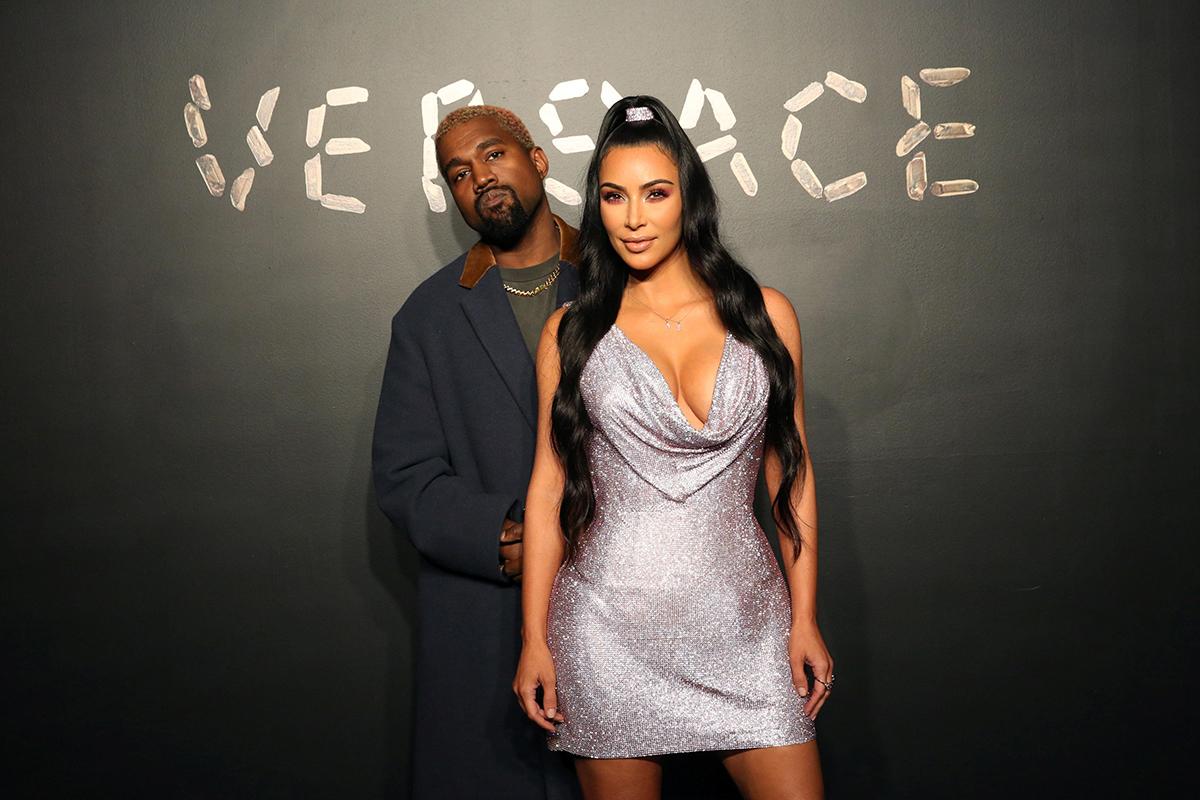 Kim Kardashian và Kanye West. Ảnh: Reuters.