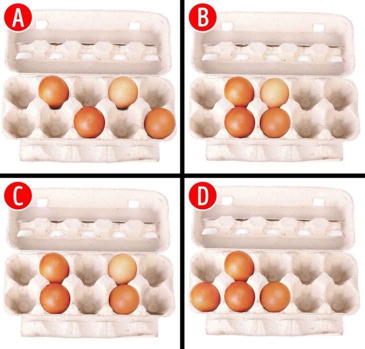Trắc nghiệm: Cách xếp trứng tiết lộ thế mạnh ưu việt nơi bạn - 1