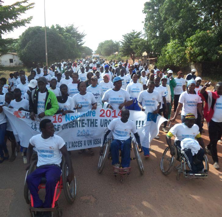 Sự kiện Ngày Nhà vệ sinh Thế giới được tổ chức ở Senegal vào năm 2014. Ảnh: Kutoid / Wikimedia Commons.