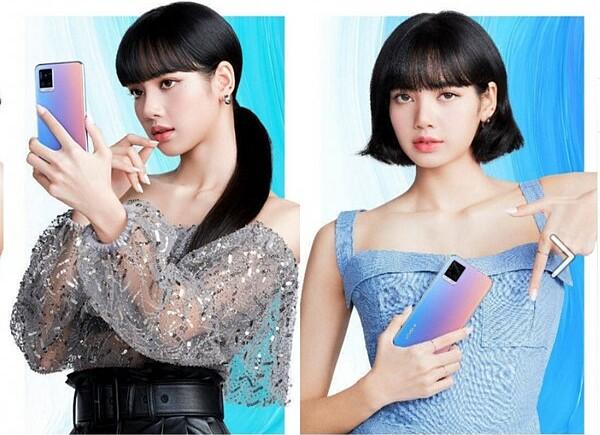 Nữ idol trong các mẫu quảng cáo.
