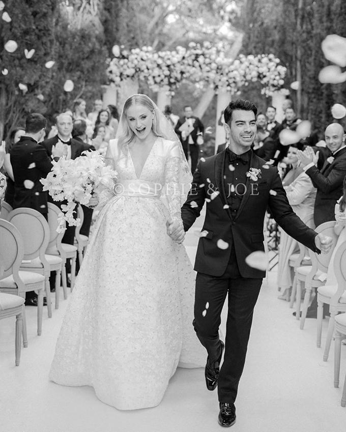 Ảnh ngày cưới của cặp đôi.