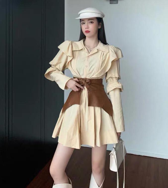 Những bộ váy ăn theo này có giá chỉ khoảng 500k, ai cũng có thể sắm được.