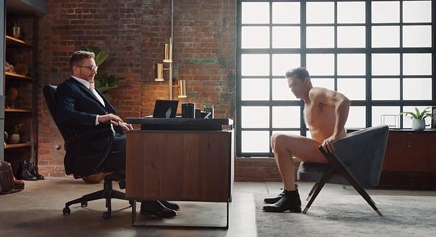 Hugh Jackman khoả thân quay quảng cáo - 2