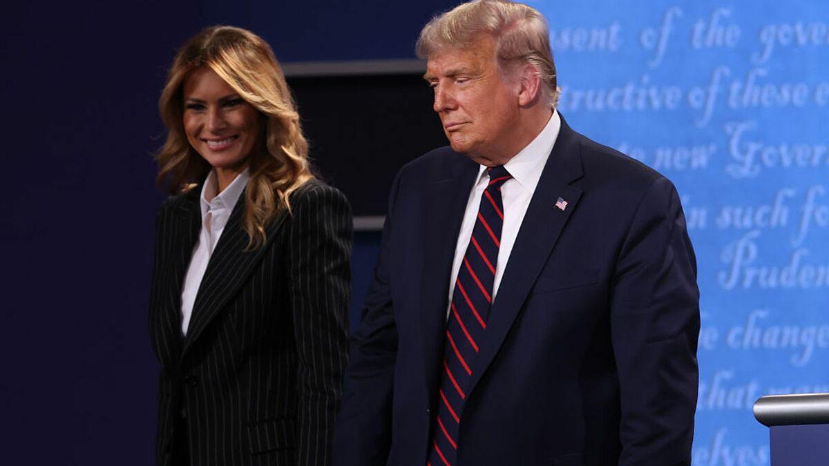 Donald Trump và vợ dương tính với nCoV - 1