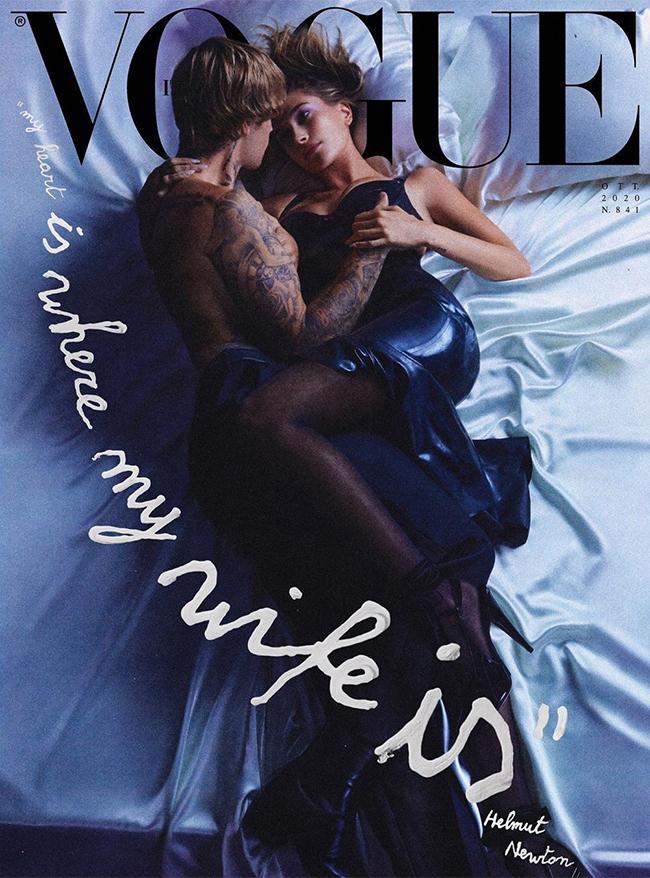 Bị đồn vấn vương tình cũ, Justin Bieber đăng ảnh tình tứ trên giường với vợ - 1