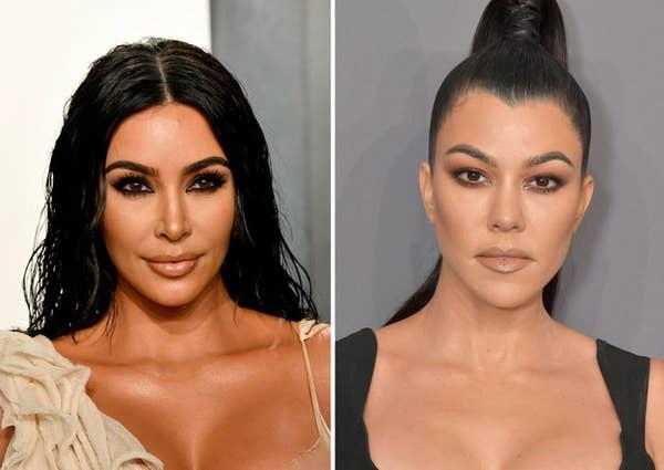 Kim vs Kourtney Kardashian: Ai cao hơn? - 1
