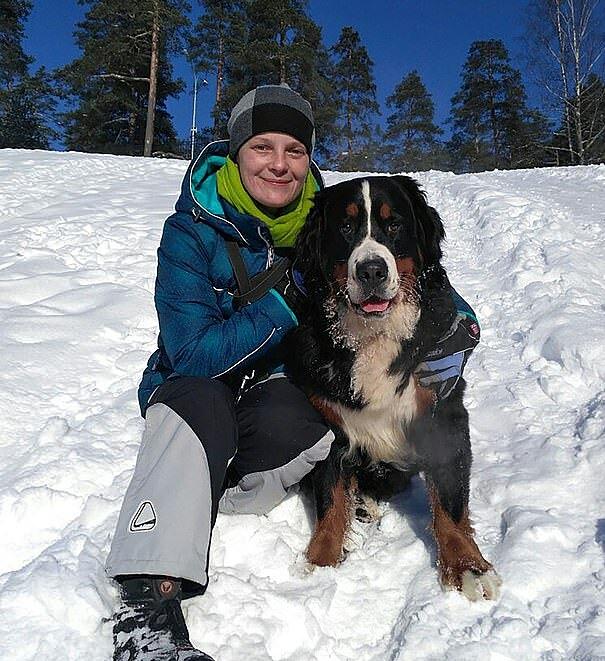 Tài xế tốt bụng Olga Lystseva là người rất yêu động vật.
