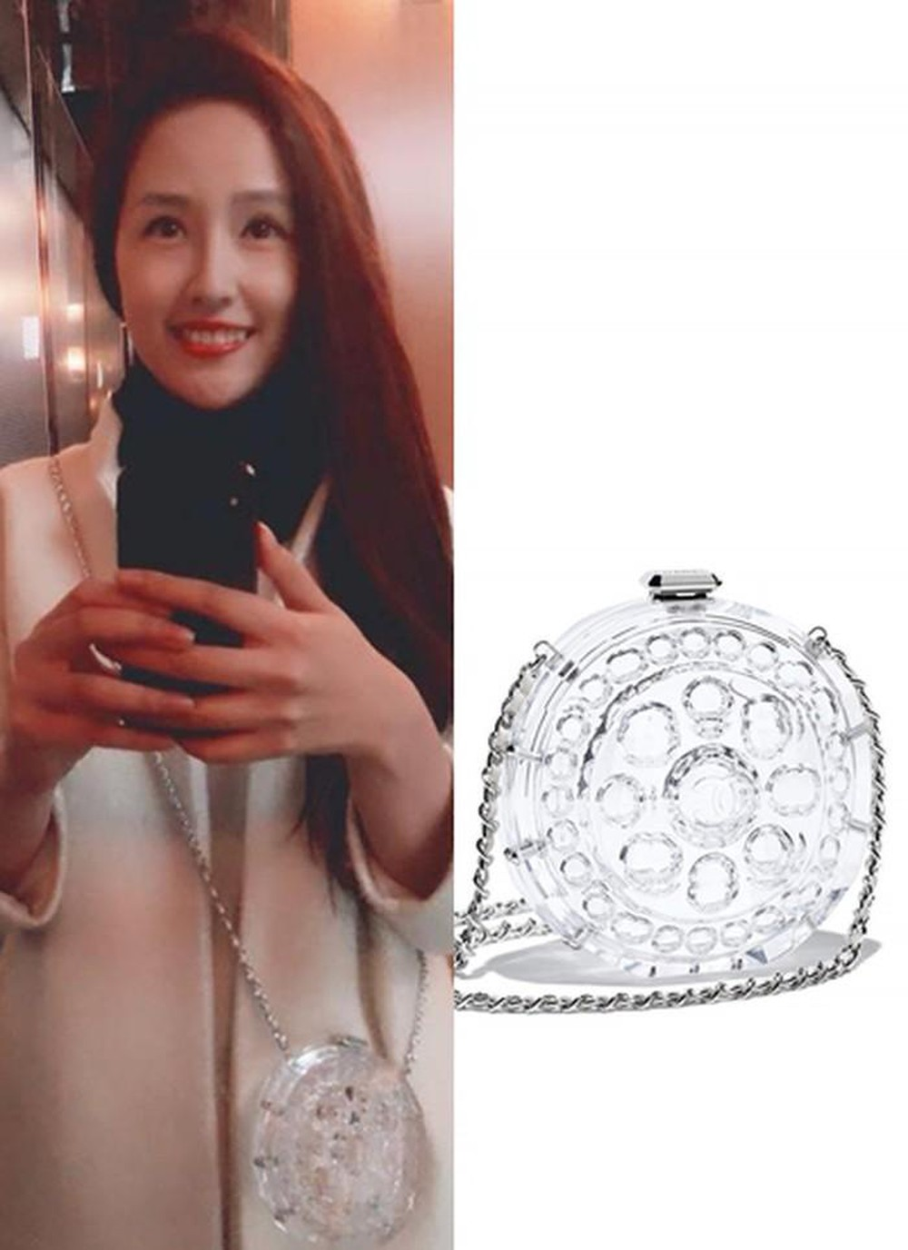 Người đẹp từng chi 300 triệu đồng để sắm chiếc túi giới hạn của Chanel chỉ đựng vừa một thỏi son, và cũng chỉ mới được cô sử dụng một lần.