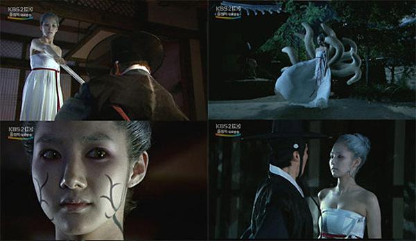 Park Min Young khiến khán giả kinh ngạc với màn hóa thân thành hồ ly tinh Myung Ok trong Hometown Legends.