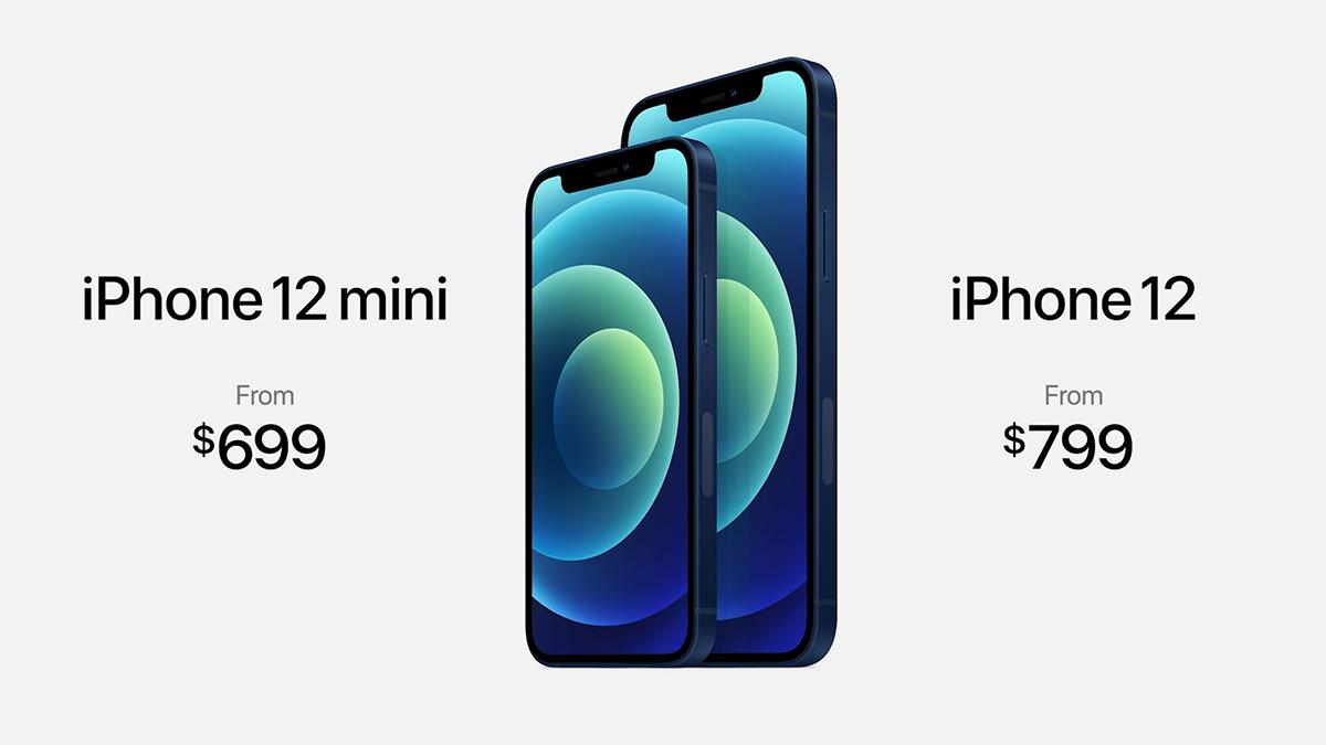 Phiên bản mini có kích thước nhỏ hơn và rẻ hơn so với iPhone 12.