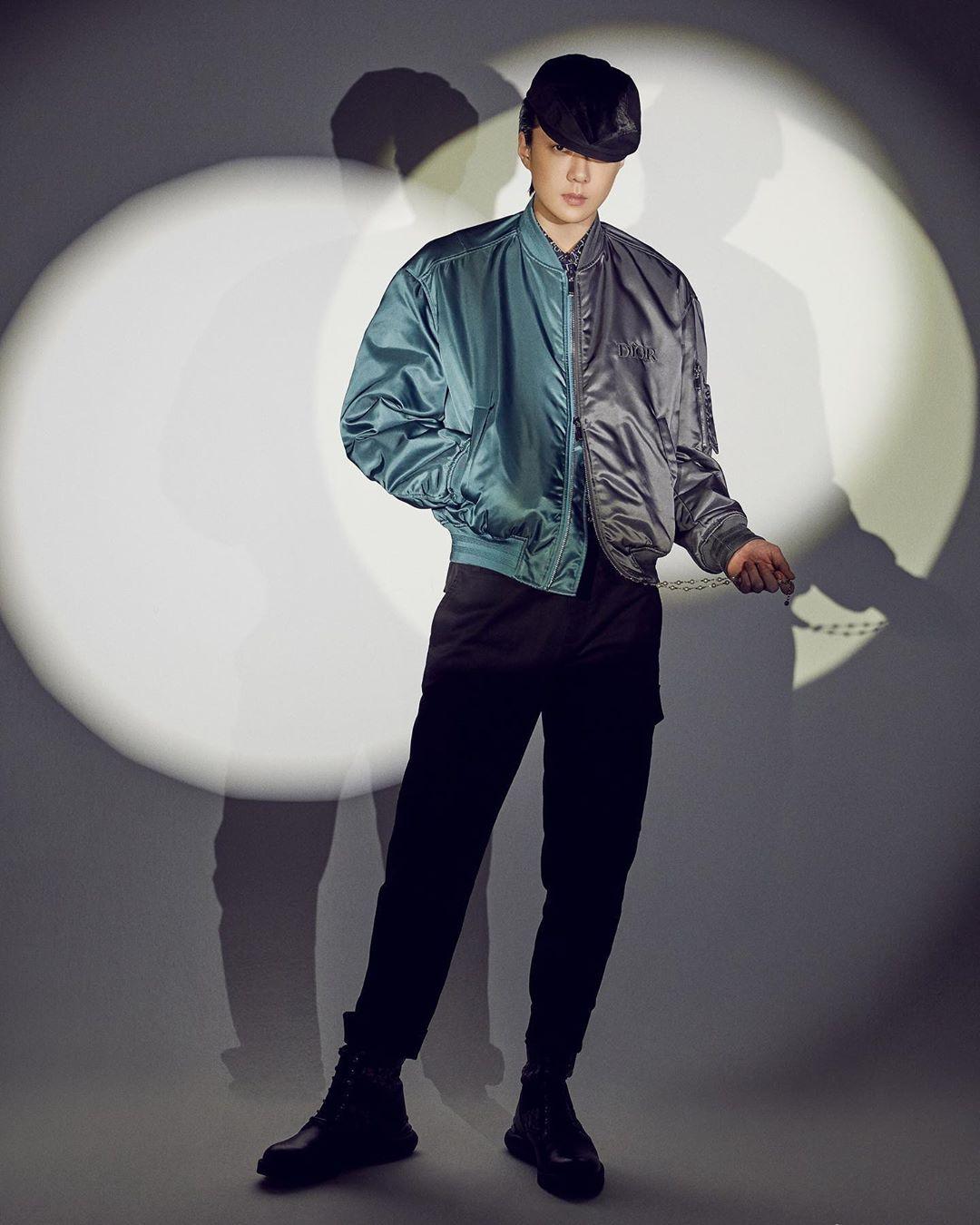 Se Hun chất lừ trong bộ ảnh quảng bá Dior.
