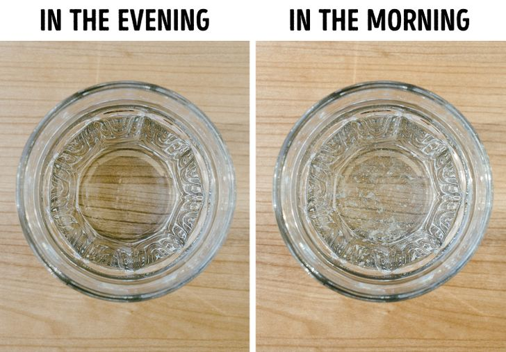 Tại sao nên tránh để ly nước gần giường? - 1