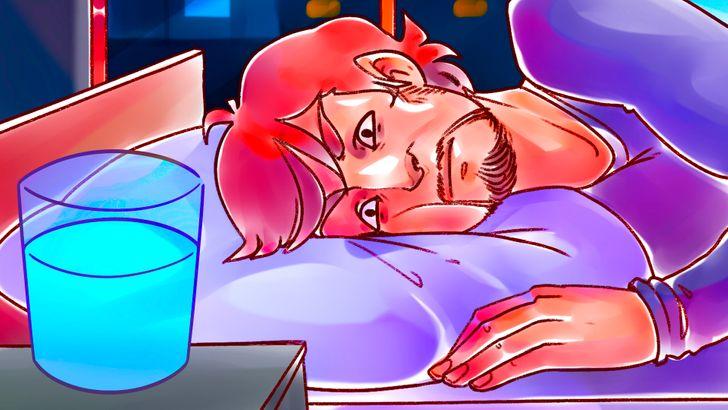 Tại sao nên tránh để ly nước gần giường? - 11