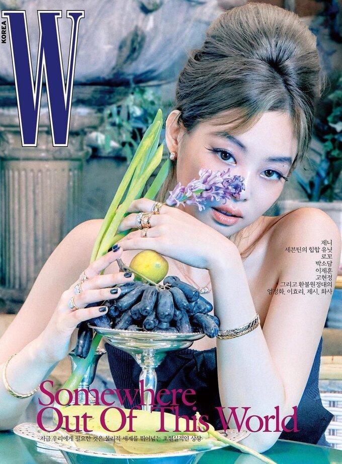 Jennie đẹp hút hồn trong bìa tạp chí mới.